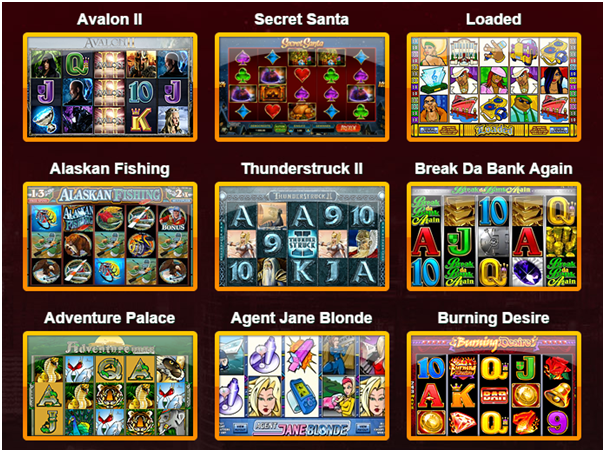 Find free slot games